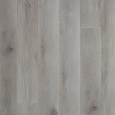 Gray High Gloss Rigid Core Luxury Vinyl Plank - Cork Back