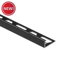 New! Schluter Jolly Edge Trim 1/4in. Aluminum Matte Black