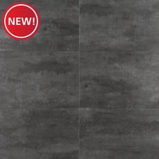 New! Black Graphite Tile with Cork Back