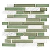 Vine Linear Glass Mosaic