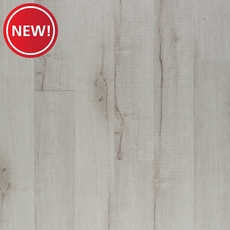 New! Alabaster Smooth Groutable Self-Stick Luxury Vinyl Plank