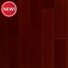 New! Mahogany Cherry Smooth Solid Hardwood