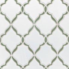 Victorian Vine Porcelain Mosaic