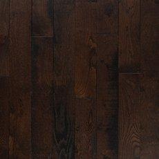Black Bison Oak Distressed Solid Hardwood