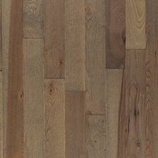 Stylish Gray Hickory Wire Brushed Solid Hardwood