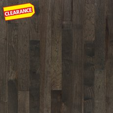Clearance! Gray Hickory Smooth Solid Hardwood