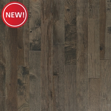 New! Gray Hickory Smooth Solid Hardwood