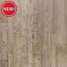 New! Light Gray Hickory Hand Scraped Engineered Hardwood