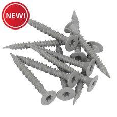 New! Goldblatt 1-1/4in. TRX Cement Screws - 800ct.