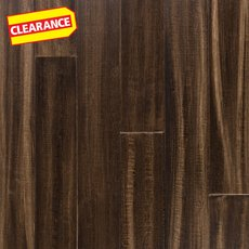 Clearance! Kade Hand Scraped Wire Brushed Water-Resistant Bamboo