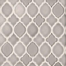 Pewter Lantern Glass Mosaic