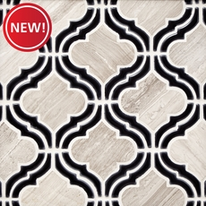 New! Mystic Valentino Arabesque Marble Mosaic