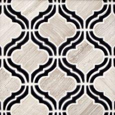 Mystic Valentino Arabesque Marble Mosaic