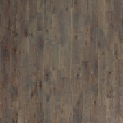 Light Gray Wash Oak Wire Brushed Solid Hardwood