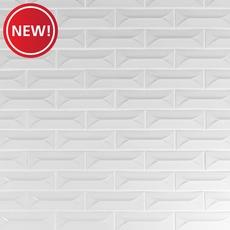 New! Heirloom Linen 3D Porcelain Tile