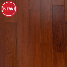 New! Brazilian Cherry Techtanium Hand Scaped Locking Engineered Hardwood