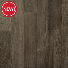 New! Medium Gray Oak Wire Brushed Water-Resistant Engineered Hardwood