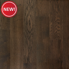 New! Brushed Gray Oak Wire Brushed Water-Resistant Engineered Hardwood