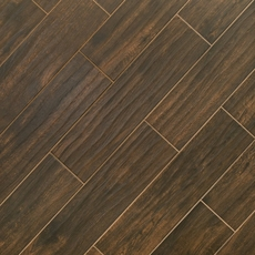 Burton Walnut Wood Plank Porcelain Tile
