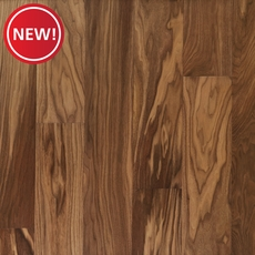 New! Light Brown Walnut Wire Brushed Water-Resistant Engineered Hardwood