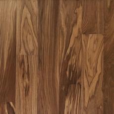 Light Brown Walnut Wire Brushed Water-Resistant Engineered Hardwood