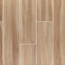 Bradford Natural Wood Plank Porcelain Tile