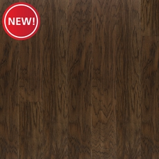 New! Dark Hickory Wire Brushed Water-Resistant Engineered Hardwood