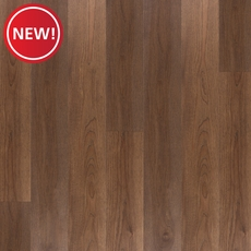 New! Rich Brown Hickory Water-Resistant Engineered Hardwood