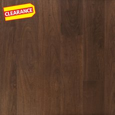 Clearance! Dark Brown Walnut Water-Resistant Engineered Hardwood