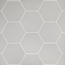 Opal Gray Hexagon Porcelain Tile