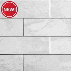 New! Classic Carrara II Polished Ceramic Tile