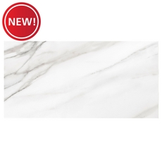 New! Calacutta II Polished Ceramic Tile