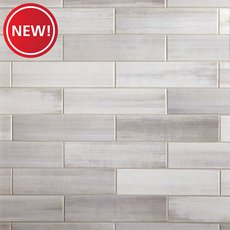 New! Linen Shadow Polished Ceramic Tile