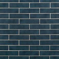 La Belle Antique Blue Polished Ceramic Tile