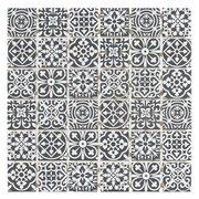 Royal Pattern Matte Ceramic Mosaic