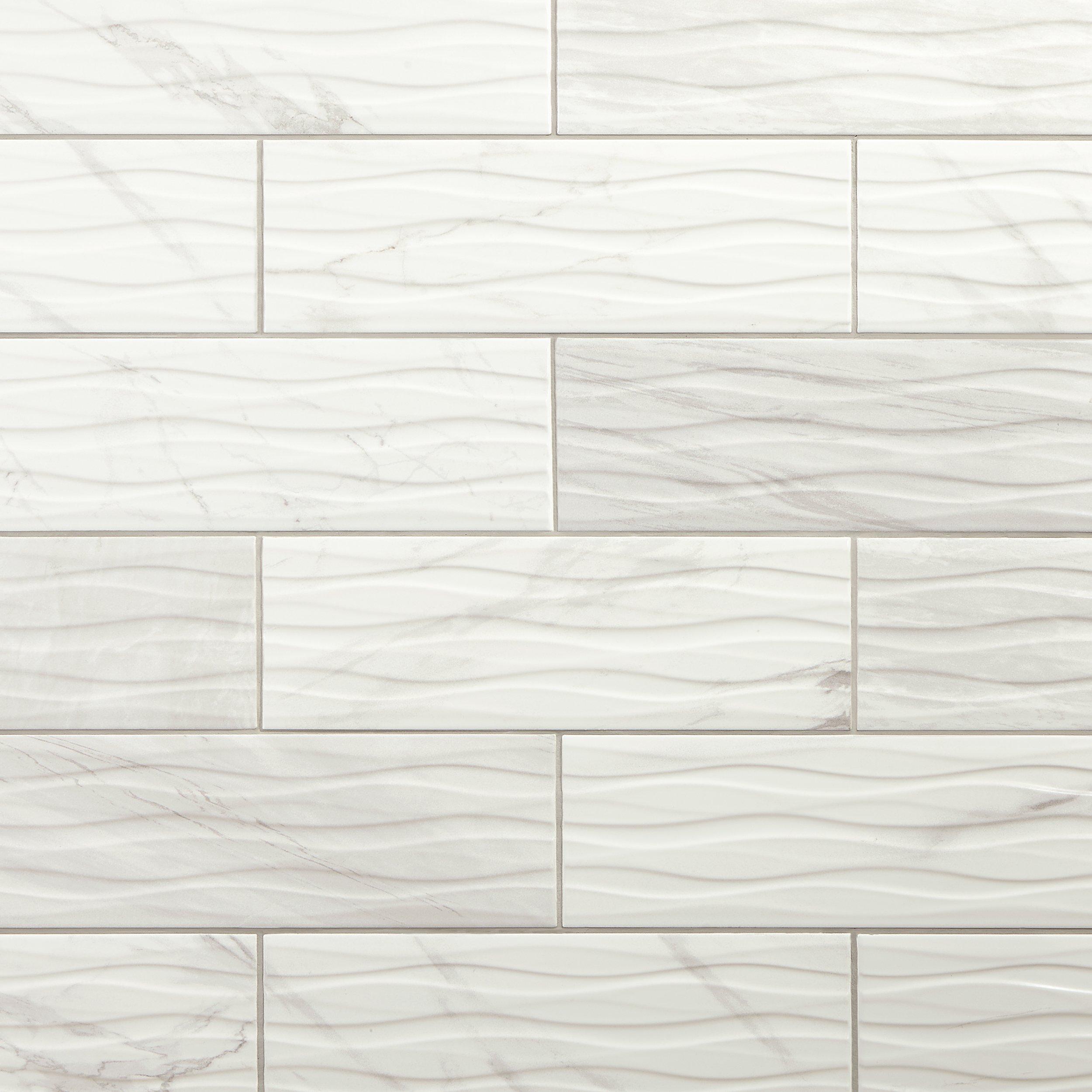 Marble Look Tile Floor Decor