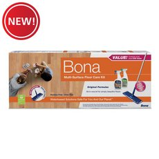 New! Bona Multisurface Floor Care Kit