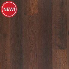 New! Hickory Mocha Hand Scraped Engineered Hardwood