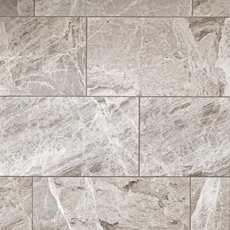 City Gray Polished Marble Tile