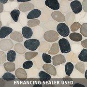 Samos Honed Pebble Mosaic