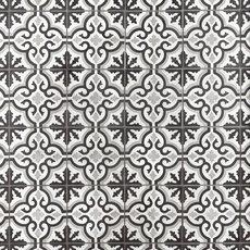 Equilibrio Black Encaustic Cement Tile
