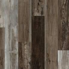 Ombre Taupe Rigid Core Luxury Vinyl Plank - Cork Back