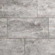 Rustic Gray Grouted Rigid Core Luxury Vinyl Tile Cork