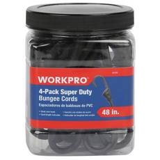 Work Pro Super Duty Bungee Cords - 4pk.