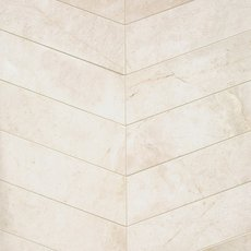 Lilia Chevron A Polished Marble Tile