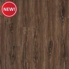 New! Mableton Oak Hand Scraped Luxury Vinyl Plank with Foam Back