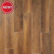 New! Mill Bay Oak Luxury Vinyl Plank with Foam Back