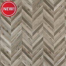 New! Cabrio Marengo Wood Plank Porcelain Tile