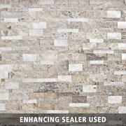 Triton Mix Splitface Travertine Panel Ledger
