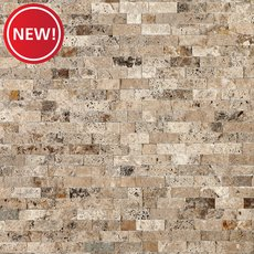 New! Philadelphia Splitface Travertine Panel Ledger